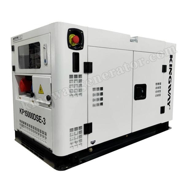 11-15.5KVA Air Cooled Portable Silent Diesel Generator