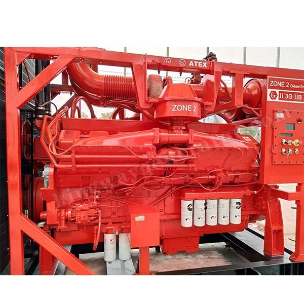 1000KVA ATEX Zone 2 (II )Explosion Proof Equipment Hazardous Area Diesel Generator