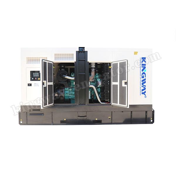 Three Phase Silent Diesel Generator Set
