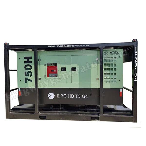750CFM ATEX Zone 2 ( II ) Explosion Proof Equipment Hazardous Area Air Compressor