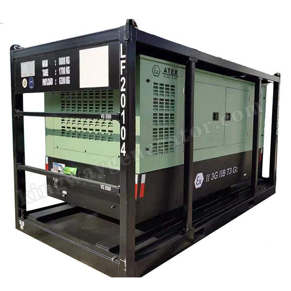 185CFM ATEX Zone 2 ( II ) Explosion Proof Equipment Hazardous Area Air Compressor